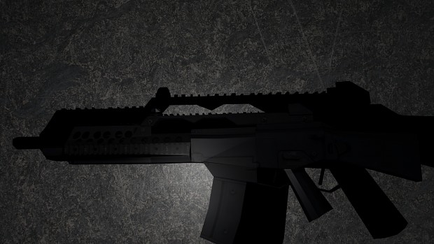 Lowpoly G36C