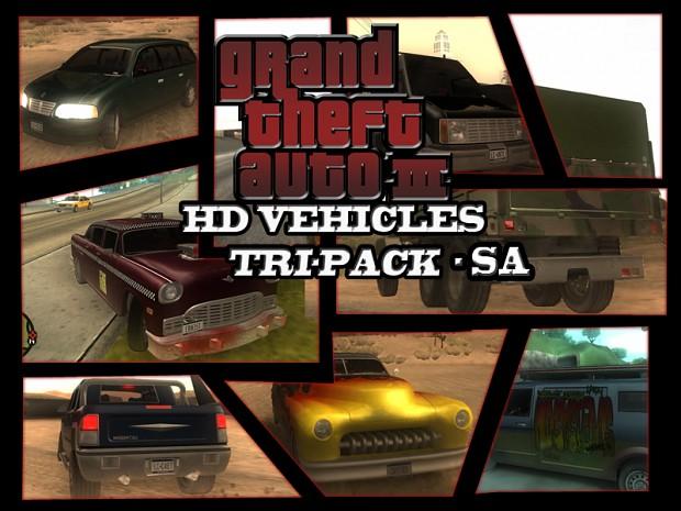 GTA3HDVEHICLES Tri-Pack SA