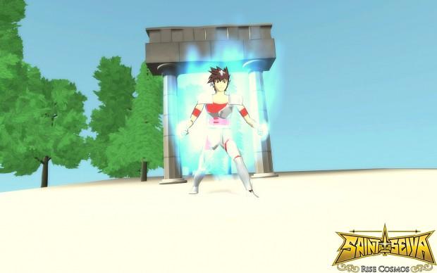 SuperAlpha game v 0.1 Saint Seiya : Rise Cosmos