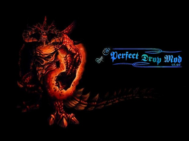 Perfect Drop Mod 1.06b for Diablo 2 1.13c