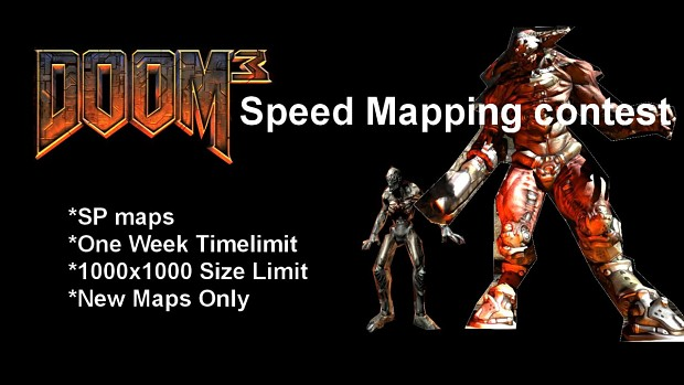Doom 3 Speed Mapping Contest #1 Maps