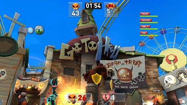Brawl Busters Open Beta client