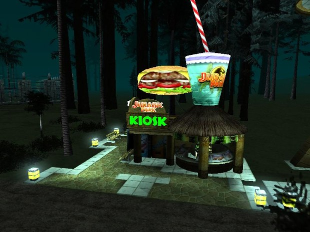Animated Kiosk