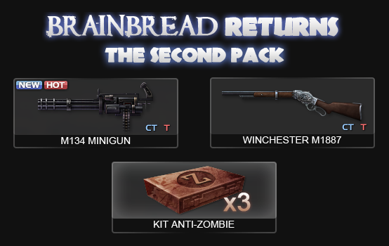 BrainBread Returns! - The Second Pack