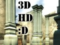 3D HD  Inferno Pillars