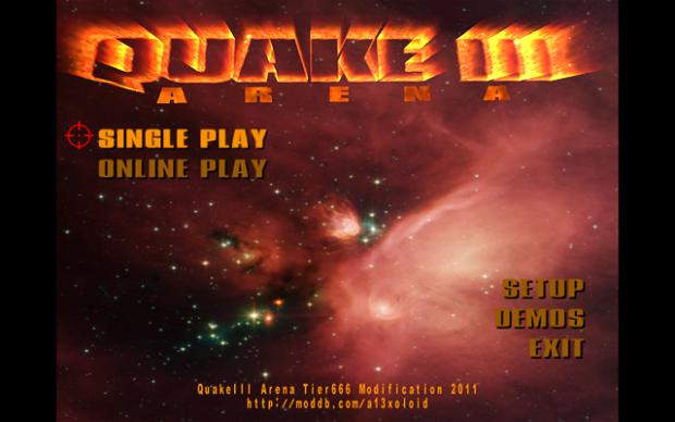 Quake3 Arena Tier666 Mod Version 3.1