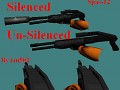 Spas 12 // Silenced / Unsilenced // Def Anims