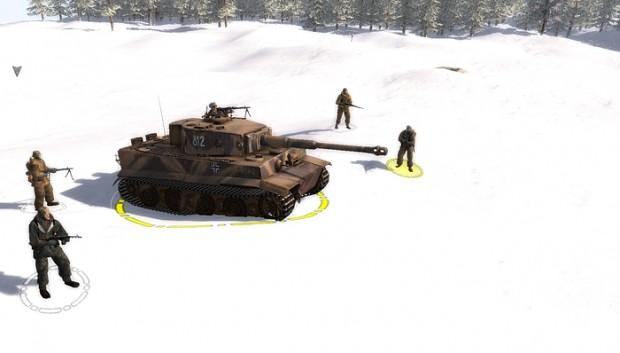 New skin of PanzerVI-E Tiger for MoWAS