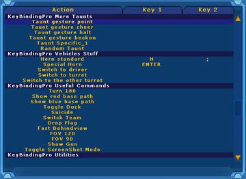 KeyBinding Pro UT2004