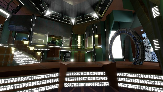 "Stargate Atlantis Map ""Siege"" ( NEW )"