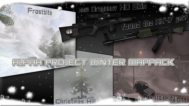 Alpha Project 0.1 Winter Mappack