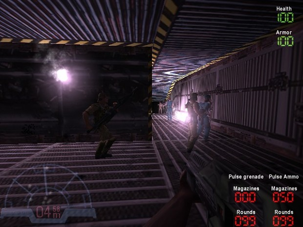 Aliens vs Predator  Npc war