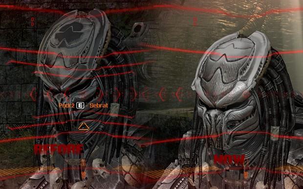 AVP Predator Mask Improved