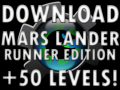 Mars Lander Runner 50 Level Edition