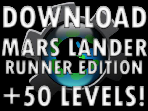 Mars Lander Runner 50 Level Edition