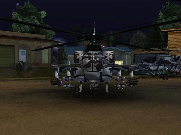 [Skin] Hunter Nod Apache Urban Camo (GTASA)