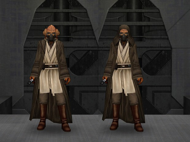 Kel'Dor in Jedi Robes