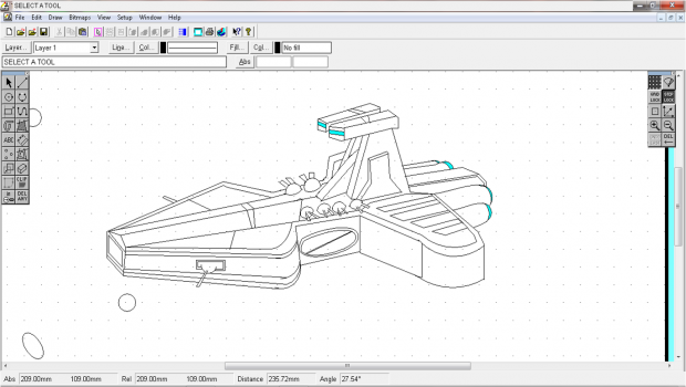 W.I.P 2D Design V2 : Venator