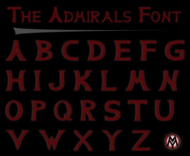 The Admirals Font v.1