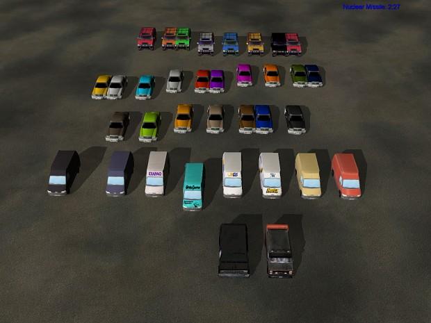 Civilian Cars