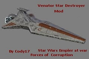 Venator star destroyer mod 2.0