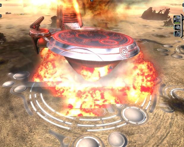 Firey Explosion Mod 1.0