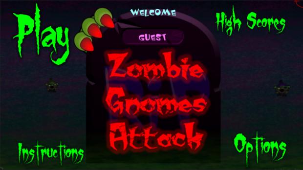 Zombie Gnomes Attack! PC Version