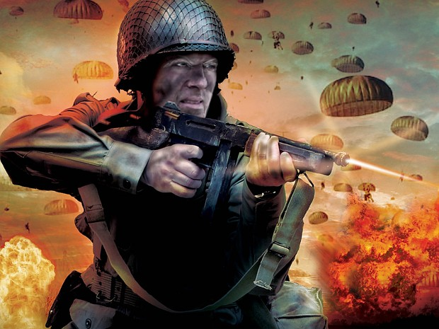 Paratrooper mission