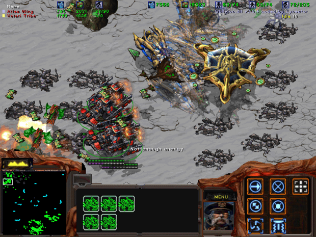 StarCraft II MOD v 1.0.8