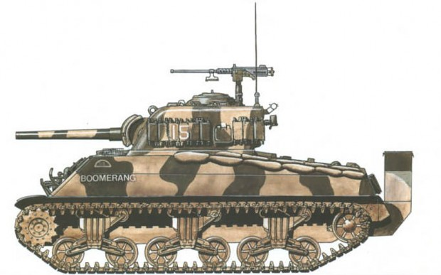 Sherman Skin