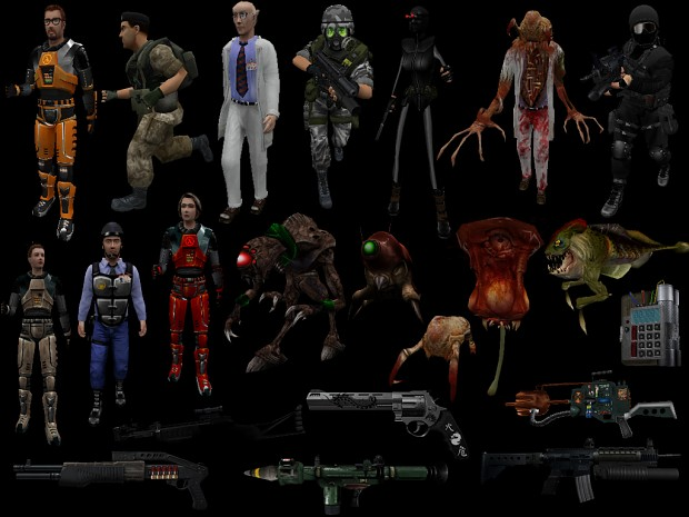 Ultimate Half life model pack - Updated 7/31/2012