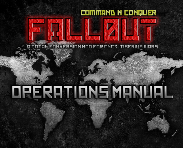 CNC Fallout Operations Manual