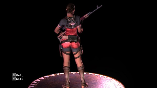 Re2 Claire Themed Sheva BSAA
