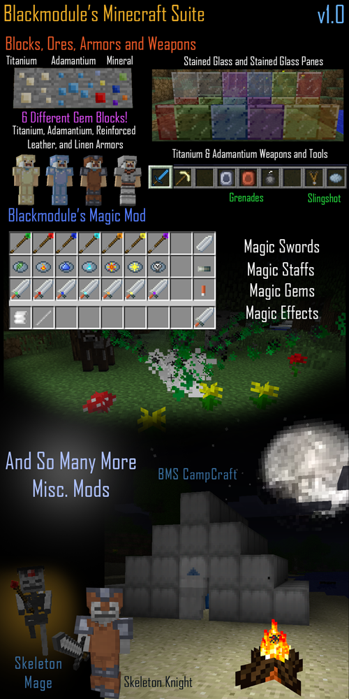 Blackmodule's Minecraft Suite v1.1