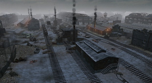 Stalingrad factory & railway UPDATED