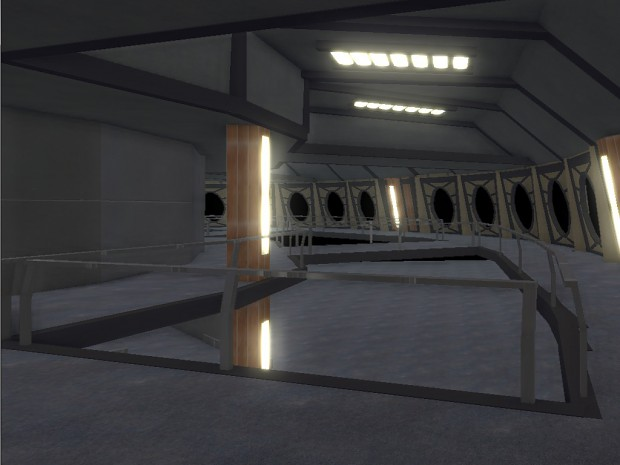 Unfinished DS9 Promenade