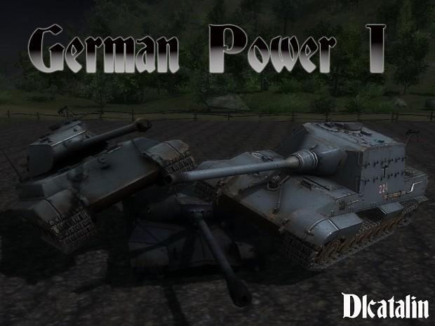 German Power 1 map  -  v1