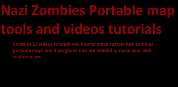 nzp map tools and tutorial videos