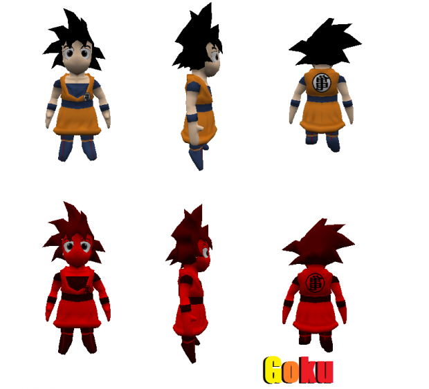Goku Beginning Demo