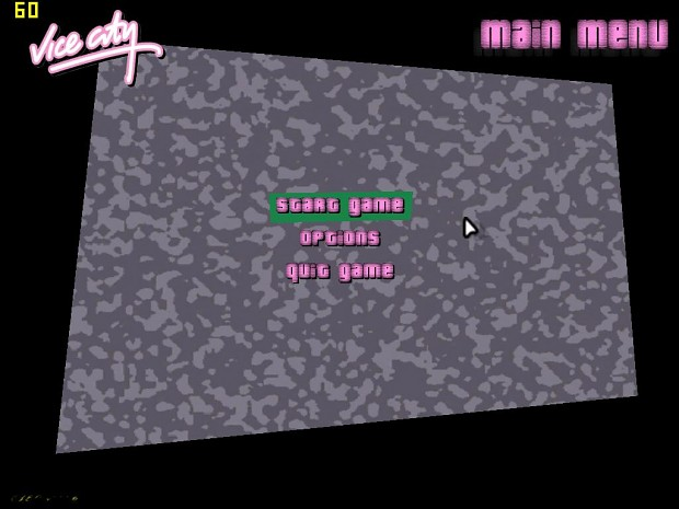 GTA Vice City new particles and fonts