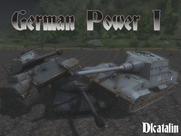 German Power Map 1 (MOWAS Version)