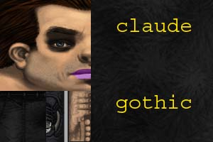 gothic claude player model