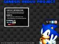 Genesis Redux Project - Version 1.0.1(Full)
