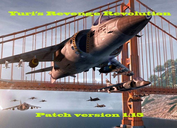 Yuri's Revenge Revolution patch v1.15