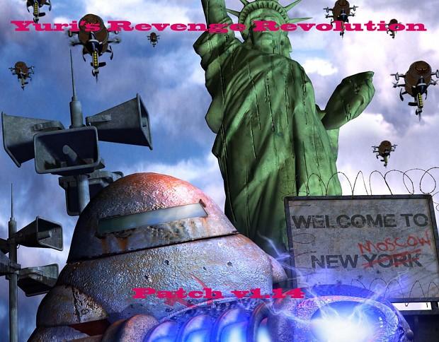 Yuri's Revenge Revolution patch v1.14