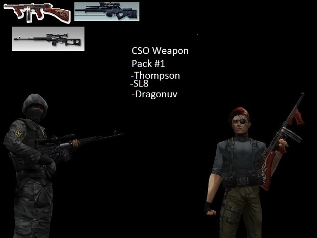 CSO Weapons Pack 1