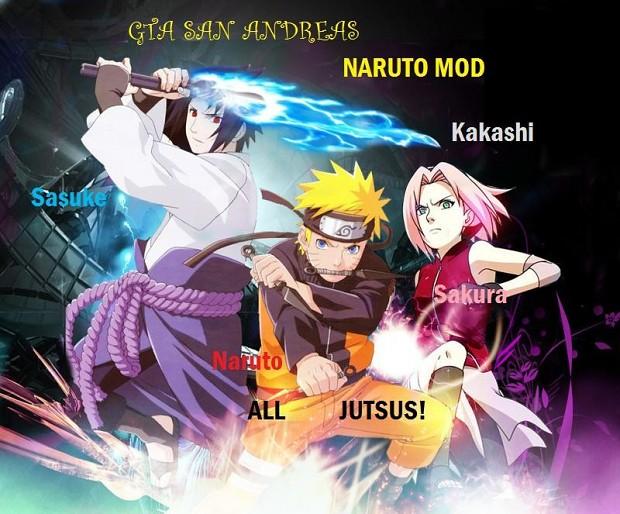 GTA: SA Naruto mod