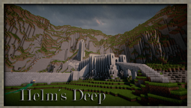 The Battle for Helm's Deep - Minecraft