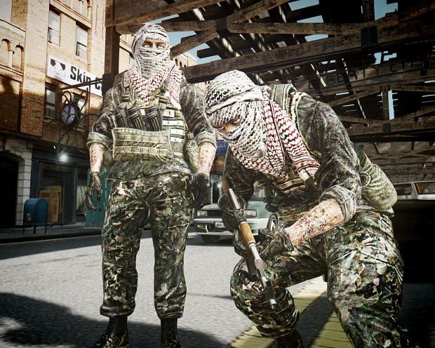 Gta IV terrorist skin