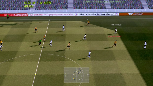 Gameplay Football public beta 0.8